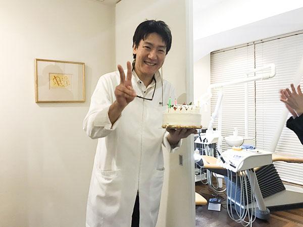 Dr誕生日会